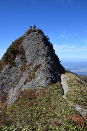 70-1大日岳からの下山