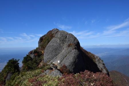 70大日岳からの下山