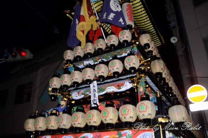 祭り提灯 魚屋町屋台(魚屋町だんじり) 西条祭り