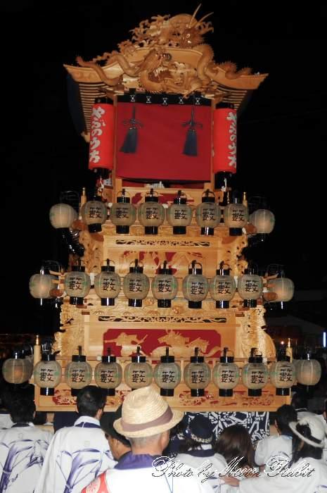 薮乃内屋台(薮之内だんじり)祭り提灯 西条祭り