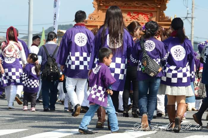 新町だんじり(新町屋台) 法被 祭り装束 西条祭り2013 伊曽乃神社