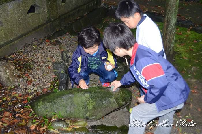 かんかん石 古茂理神社 愛媛県西条市中野1484