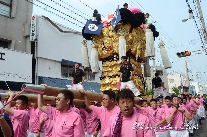 中筋太鼓台 新居浜夏祭り
