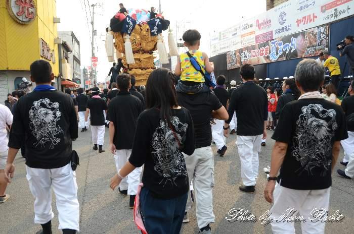 下泉太鼓台 新居浜太鼓祭り 祭り装束