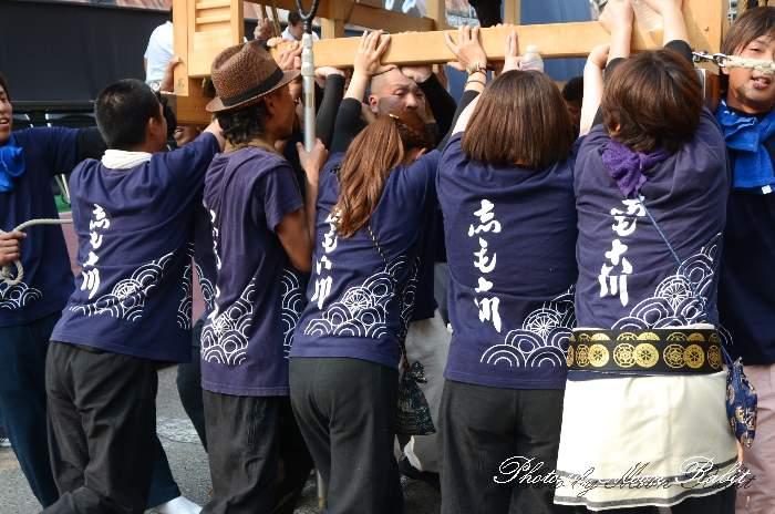 下小川だんじり(下小川屋台) 祭り装束