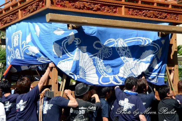 土台幕 福武新田だんじり(新田屋台) 西条祭り
