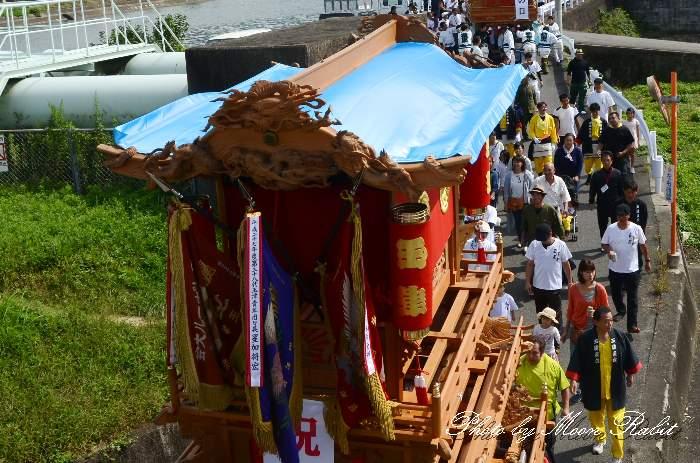 だんじり天幕 玉津屋台(玉津だんじり) 西条祭り
