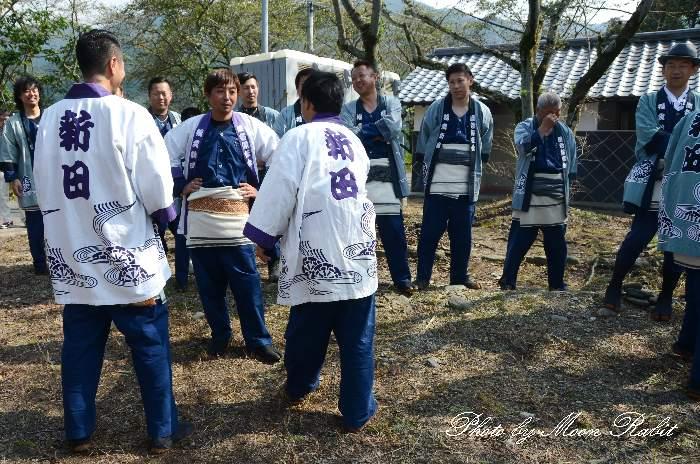 福武新田だんじり(新田屋台) 祭り装束 西条祭り