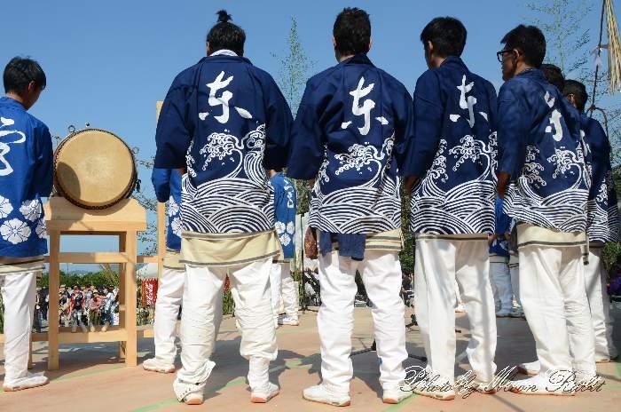 東常盤屋台(東常盤だんじり) 祭り装束 小松祭り