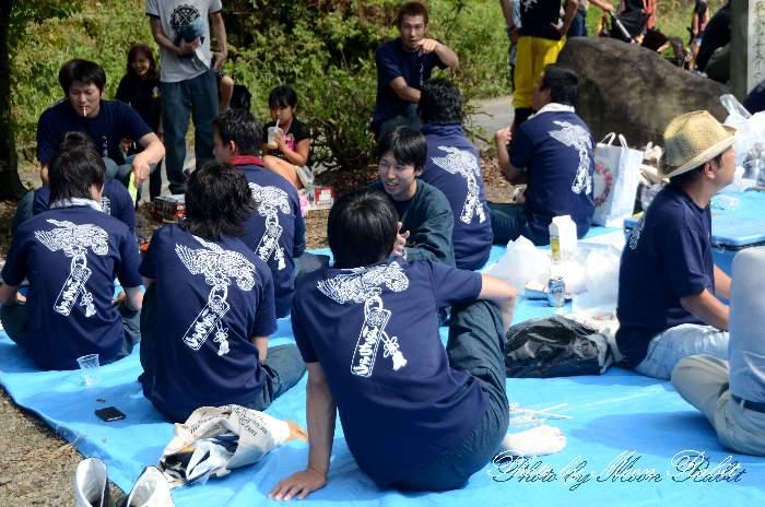 八丁だんじり(屋台) 祭り装束 西条祭り2013 伊曽乃神社