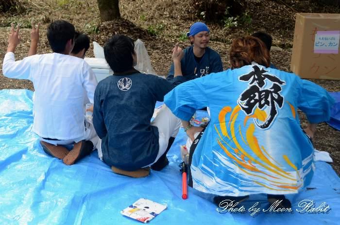 飯岡本郷太鼓台 祭り装束
