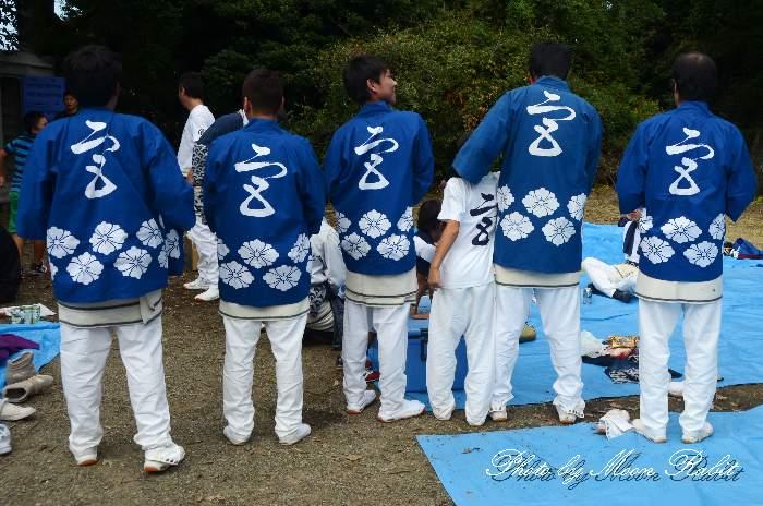 宮の下だんじり(宮之下屋台) 祭り装束 石岡神社祭礼