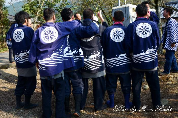 仲町小川屋台(仲町小川だんじり) 祭り装束 西条祭り