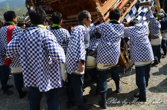 安知生屋台(安知生だんじり) 祭り装束