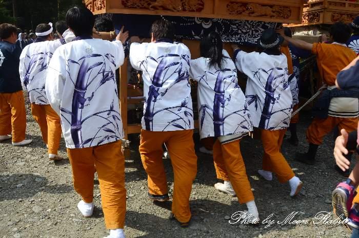 薮之内だんじり(薮乃内屋台) 祭り装束 西条祭り