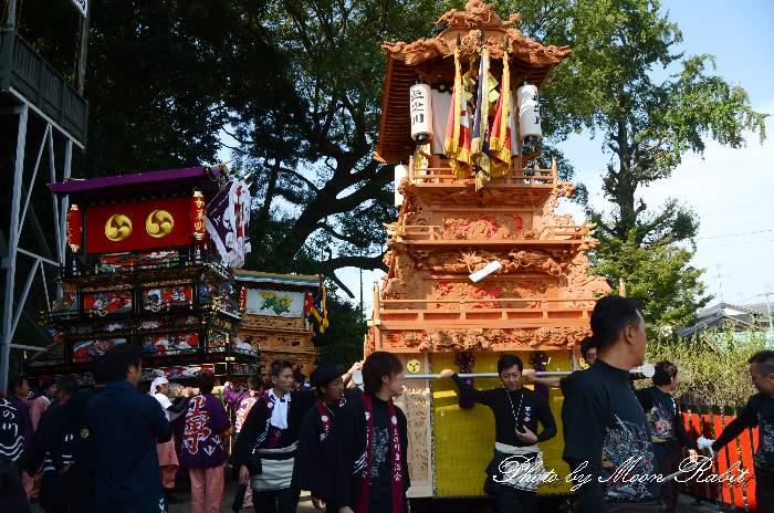 上之川屋台30周年 高尾神社
