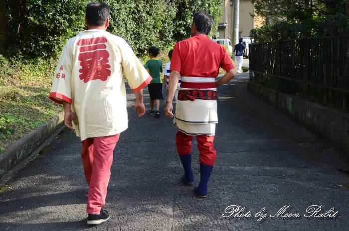 裏組屋台(裏組だんじり) 祭り装束 西条祭り
