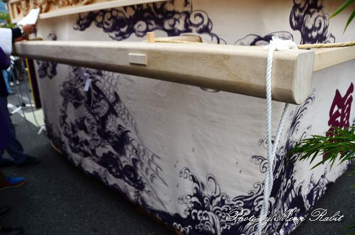錦町だんじり(屋台) 胴板彫刻・隅障子 西条祭り