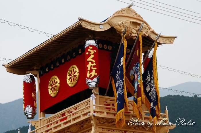 新調錦町屋台(錦町だんじり) 祭り提灯
