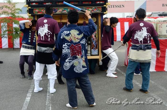 新調錦町屋台(錦町だんじり) 祭り装束