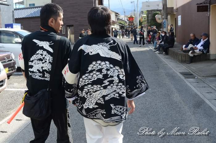 松之巷屋台(松之巷だんじり) 祭り装束