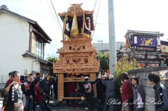 風伯神社祭 常盤巷だんじり(屋台)