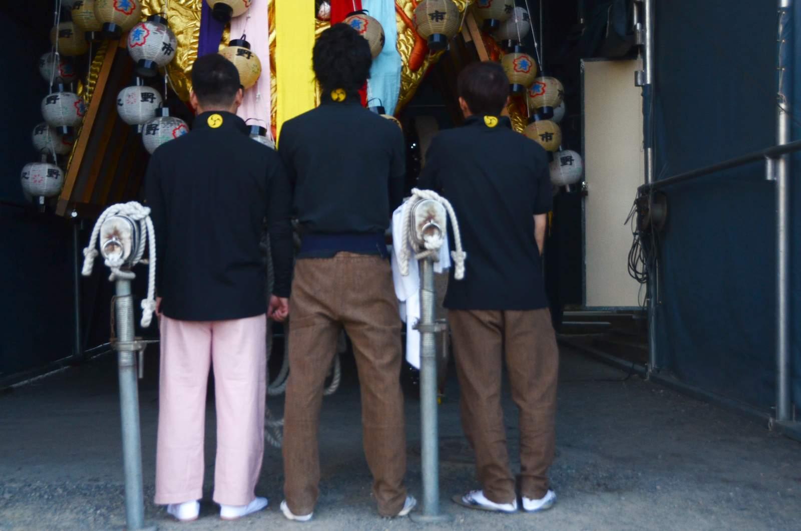 野々市みこし(野々市御輿) 祭り装束