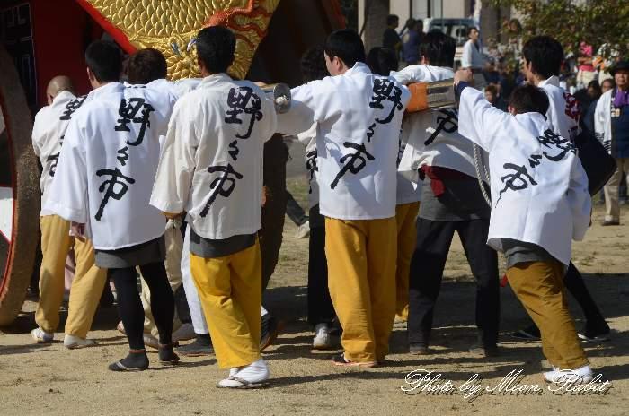 野々市御輿(野々市みこし) 祭り装束