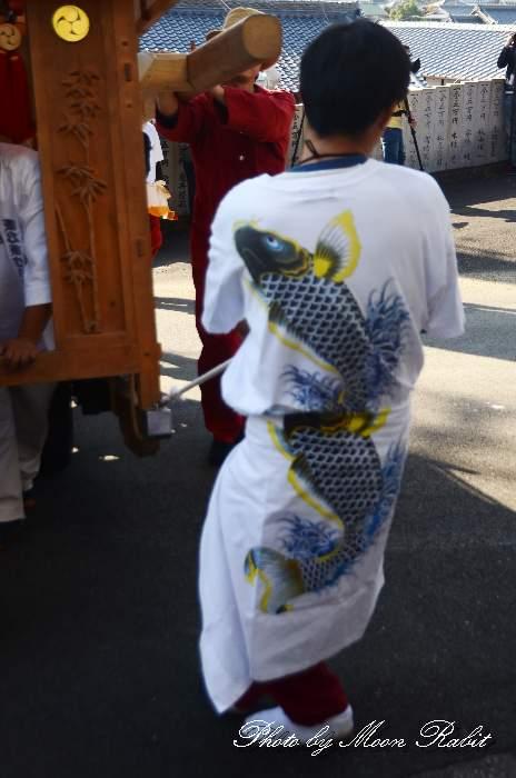 西乃原だんじり(西之原屋台) 祭り装束 石岡神社祭礼