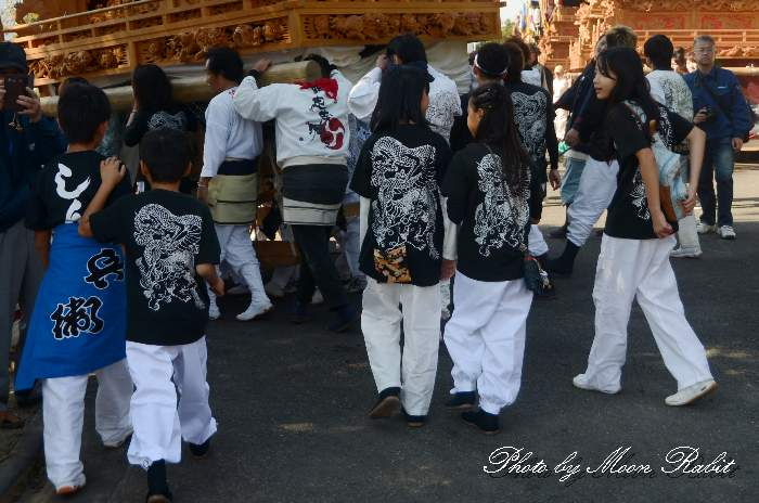 久保屋台(久保だんじり) 祭り装束