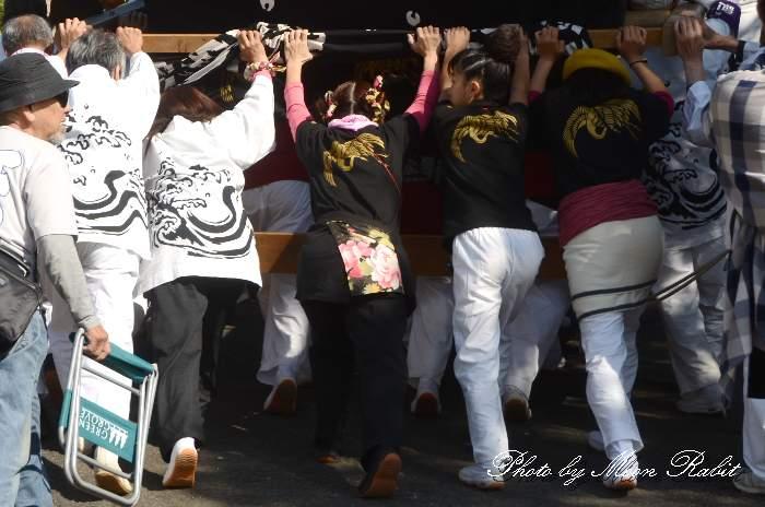 新町屋台(だんじり) 法被 祭り装束 石岡神社祭礼