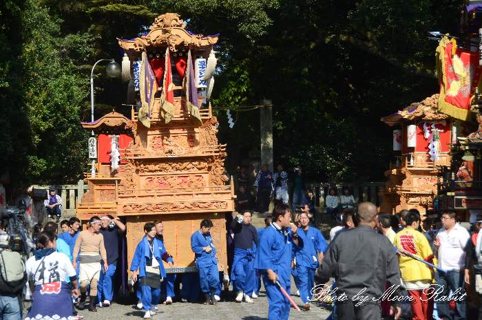 石岡神社祭礼 西泉だんじり(西泉屋台)