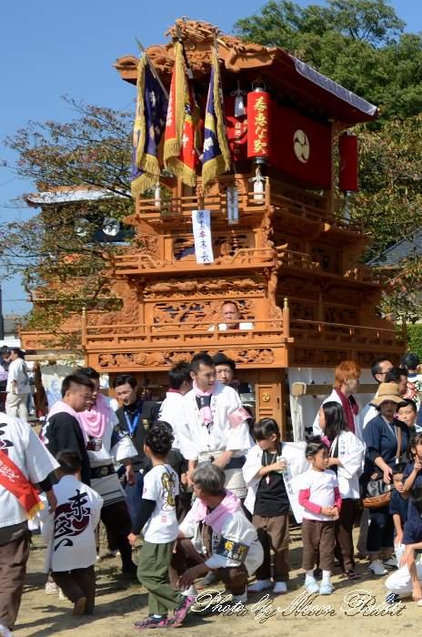 石岡神社祭礼 末長屋台(末長だんじり)