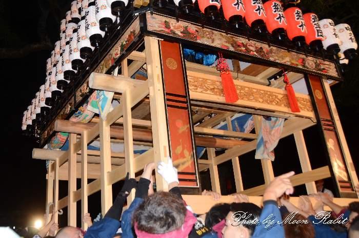 台輪新調 中の段だんじり(中之段屋台) 西条祭り