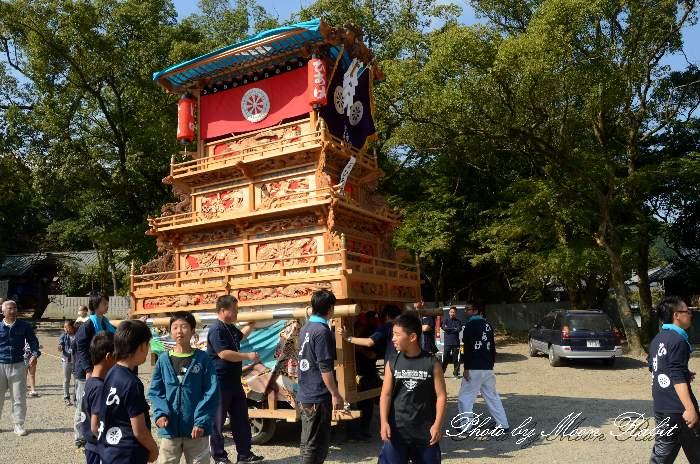 古茂理神社祭り 日明だんじり(日明屋台)