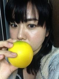 丸いレモン
