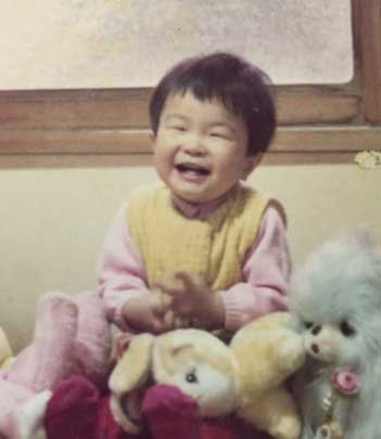 Y子赤ちゃん時代