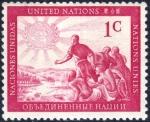 国連最初の切手(1951)