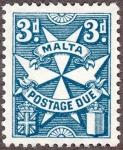 マルタ十字(不足料切手)