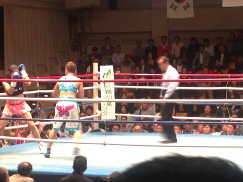 女子ボクシング藤原2