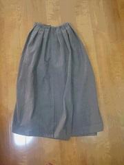 スカート完成ということで・・・。