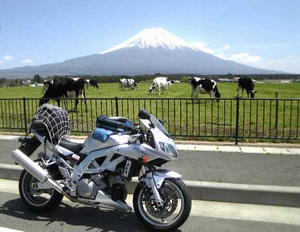 富士山 バイク