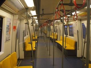 train seat in bangkok