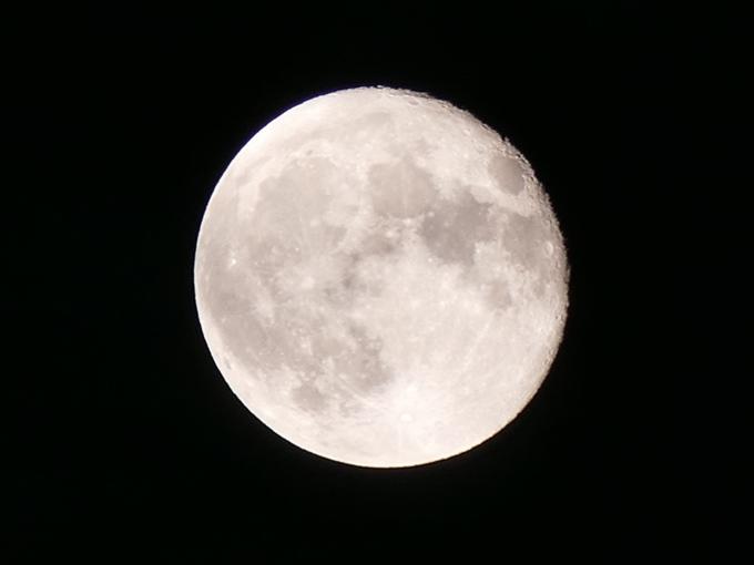 月を撮るの巻き