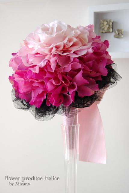 かわいい ピンク ブーケ