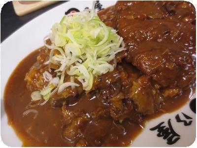 牛すじ煮込みカレー(大盛り)+メンチカツ