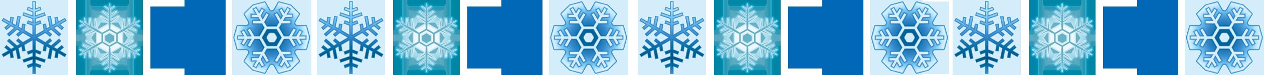 雪の結晶ライン