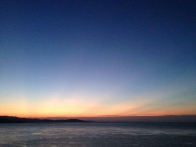 明けの明星と木星