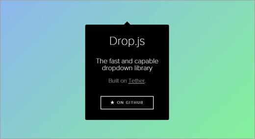 Drop.js