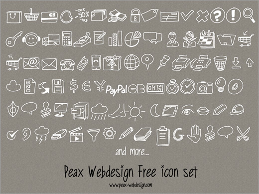 Peax Drawn Icons